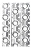 Louvered fins