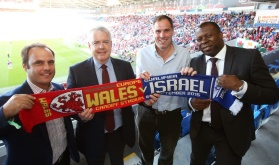 Wales V Israel Football Trade Event - 1st Minister For Wales