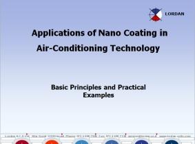 Nano coating applications on Heat-Exchangers